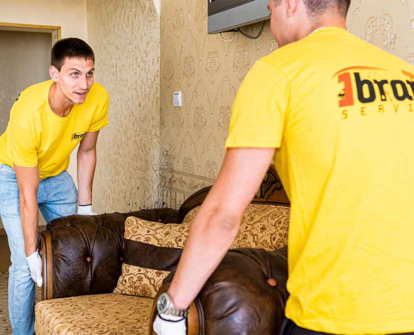 Professional home removals
